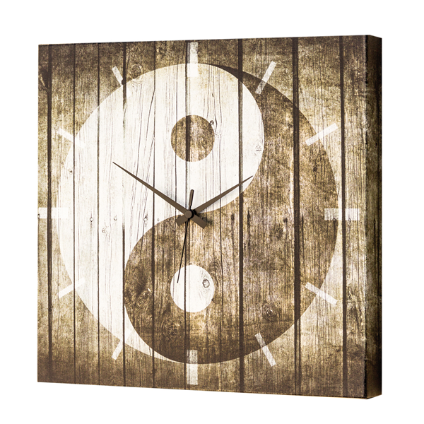 Модерен стенен принт часовник, TAO от Pintdecor
