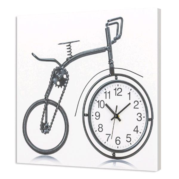 Дизайнерски стенен принт часовник, RICICLO от Pintdecor