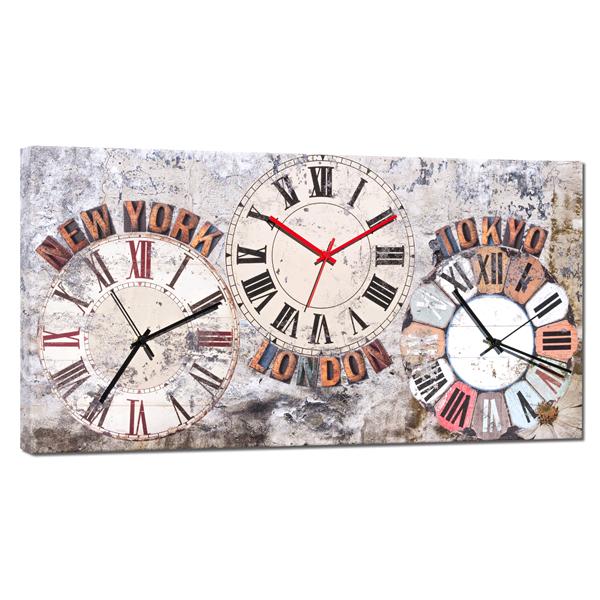 Дизайнерски стенен принт часовник, NELOTO от Pintdecor