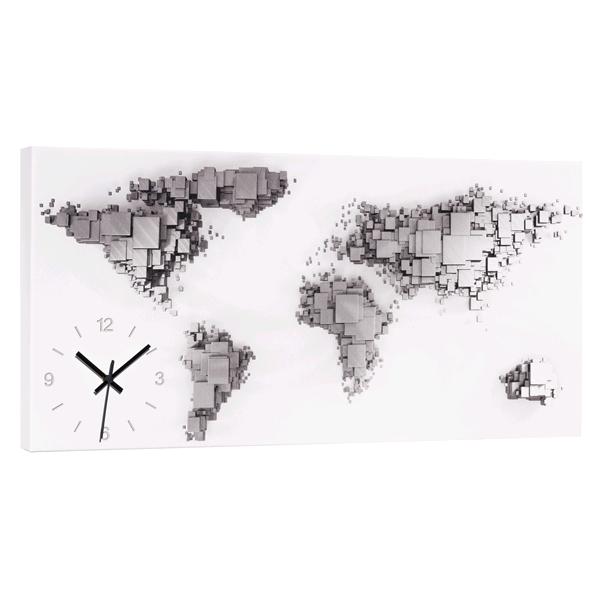 Дизайнерски стенен принт часовник, MONDO TIME от Pintdecor