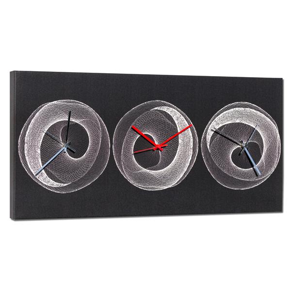 Дизайнерски стенен принт часовник, RETE от Pintdecor