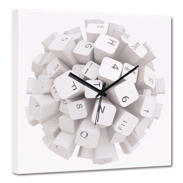 TASTI - Интериорен стенен принт часовник