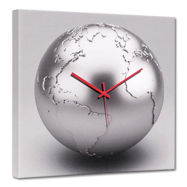 TERRA D'ARGENTO - Дизайнерски стенен принт часовник