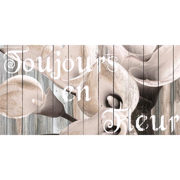 TOUJOURS en FLEUR - Съвременно пано за стена