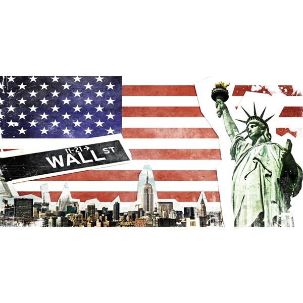 WALL STREET - Пано за стена, WALL STREET