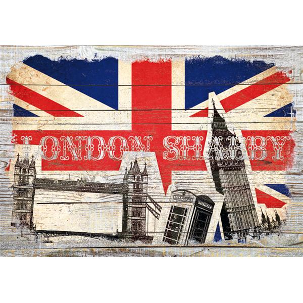 Фото принт картина за стена, LONDON SHABBY от Pintdecor