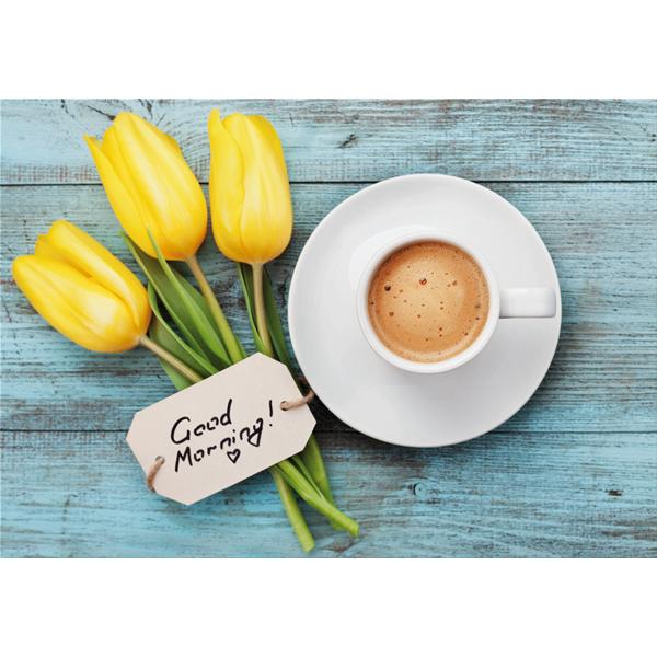 TULIPANI e CAFFE' - Съвременна принт картина