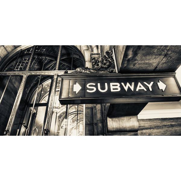 SUBWAY - Италианска принт картина
