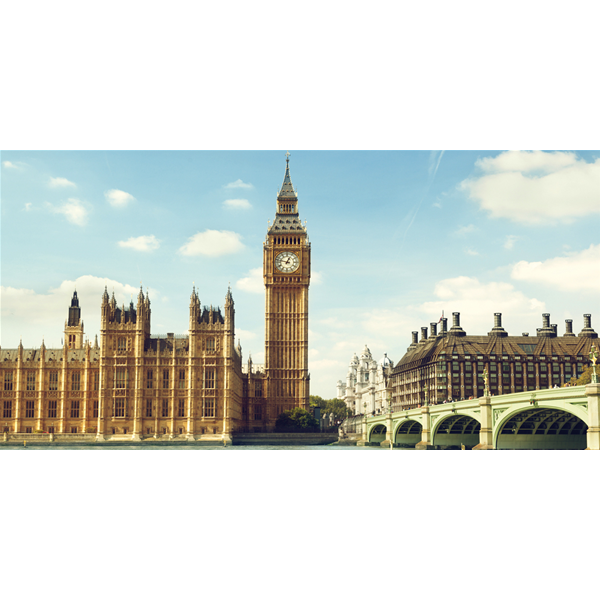 Фото принт картина за стена, LONDRA sul TAMIGI от Pintdecor