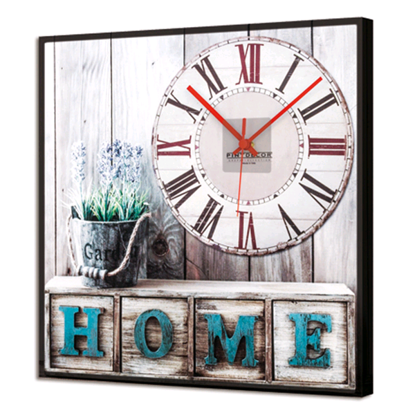 HOME SWEET HOME - Италиански LED часовник