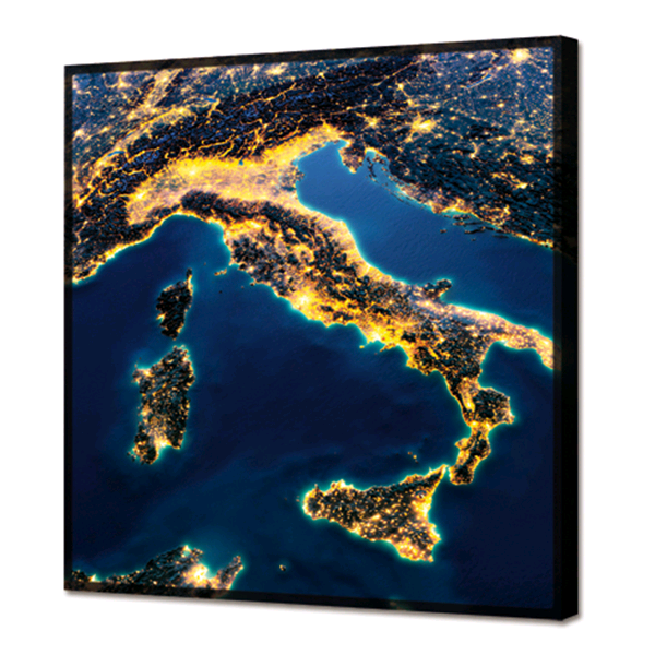 Модерно италианско LED пано, ITALIA от Pintdecor