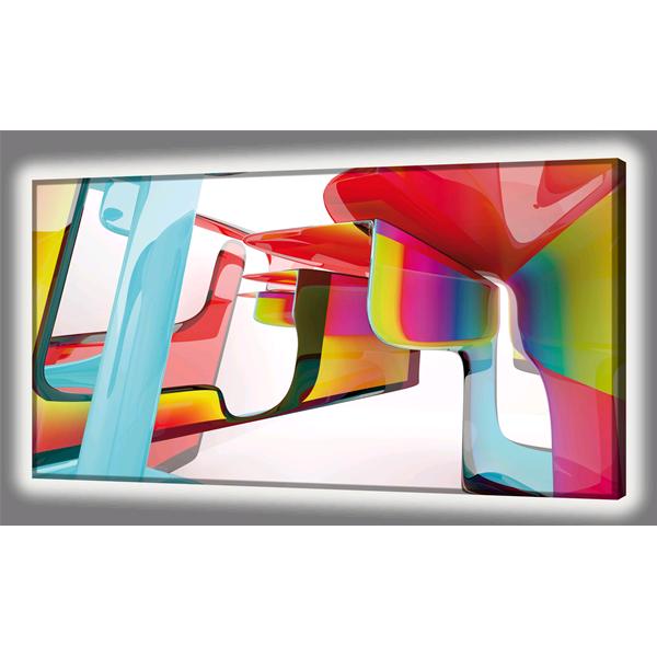 Модерно италианско LED пано, PLASTIC от Pintdecor