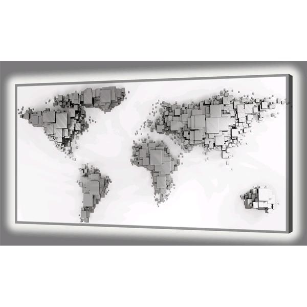 PLANISFERO LUMINOSO - Модерно декоративно LED пано