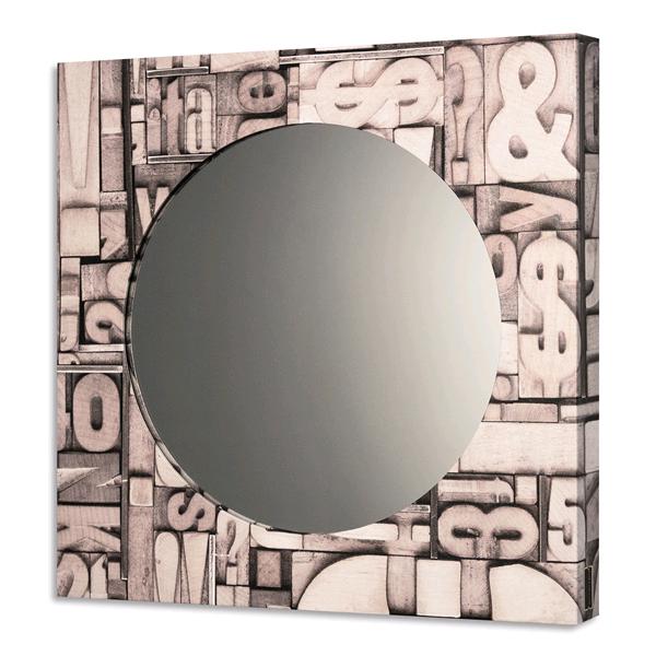 SCOLPITA - Модерно интериорно принт огледало