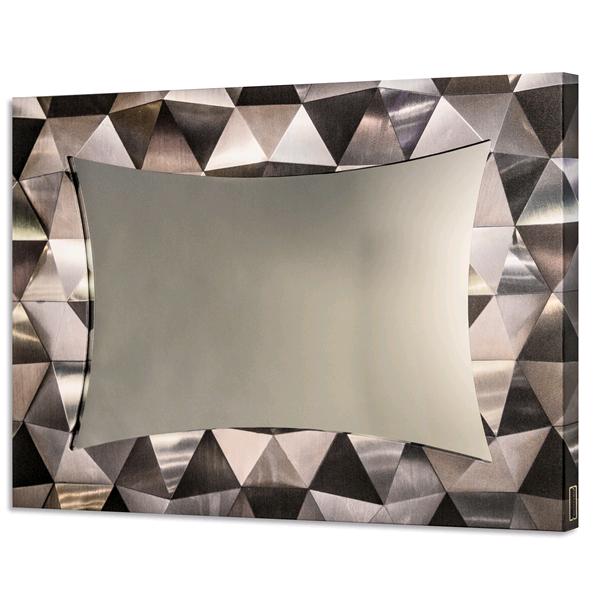 TRIANGOLI SATINATI - Модерно стенно принт огледало