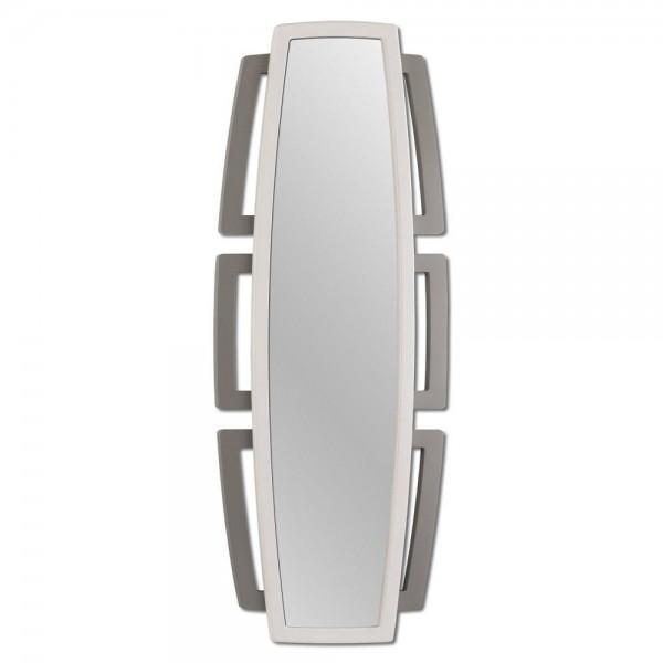 SEFORA - Огледало за стена, изработено в слонова кост и сив гланц