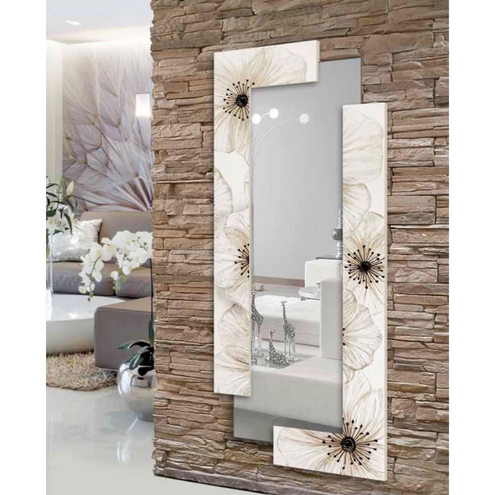 Италианско стенно огледало, PETUNIA SCOMPOSTA от Pintdecor