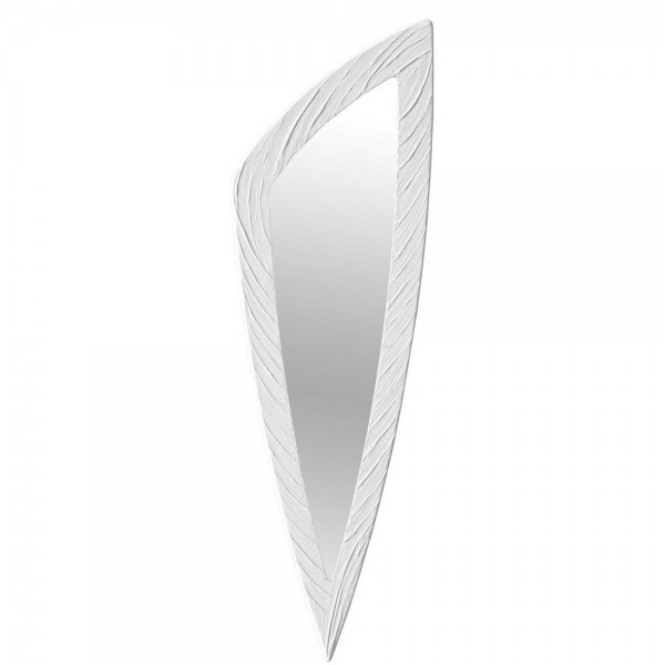 SELCE - Стенно огледало, рамка в цвят слонова кост
