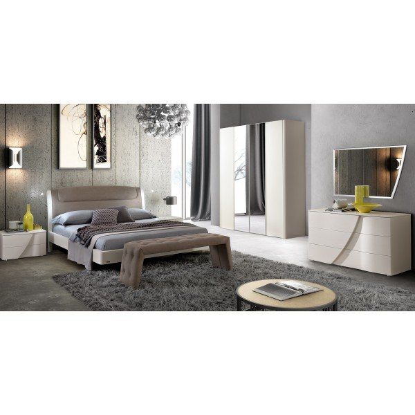 N - Италианска спалня SINKRO LUNA серия MODUM