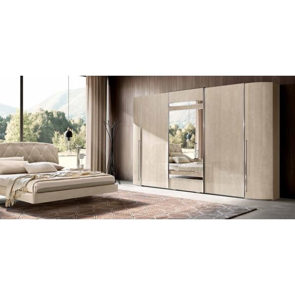 N - Италианска спалня SLAY, серия Round
