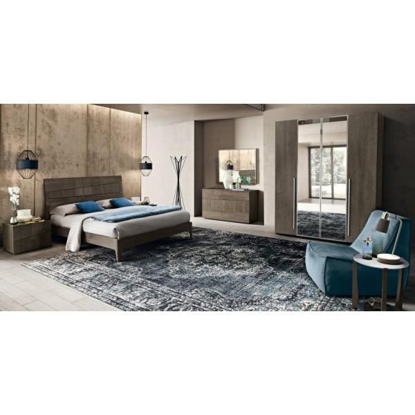 N - Модерна италианска спалня TEKNO серия MODUM
