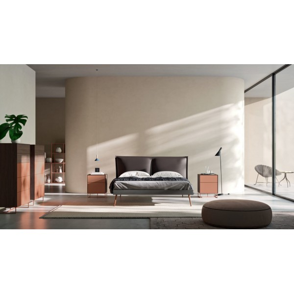 Съвременна тапицирана спалня, LEDA