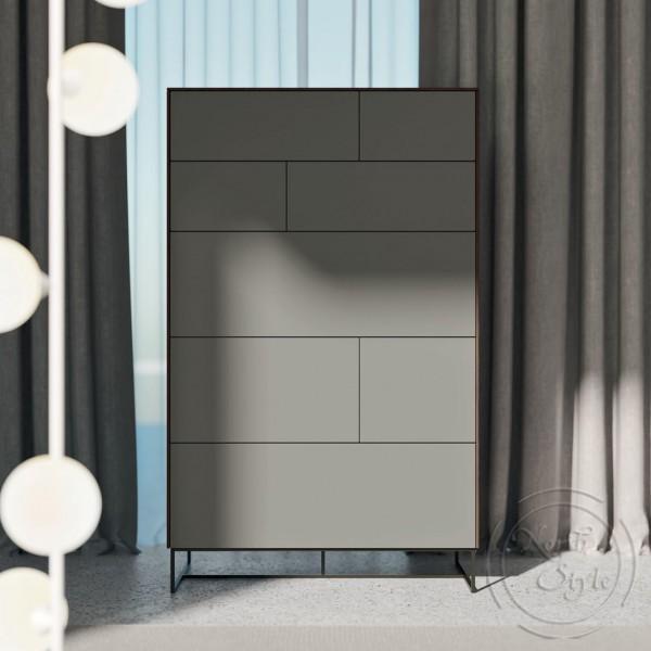 Шкаф за дрехи с метална основа, KLEE