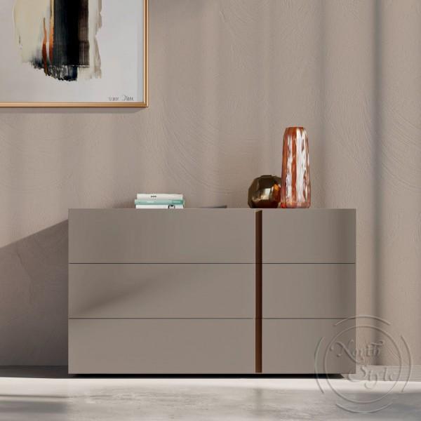 Модерен скрин за спалня, 3 бр. чекмеджета,  VIRGO