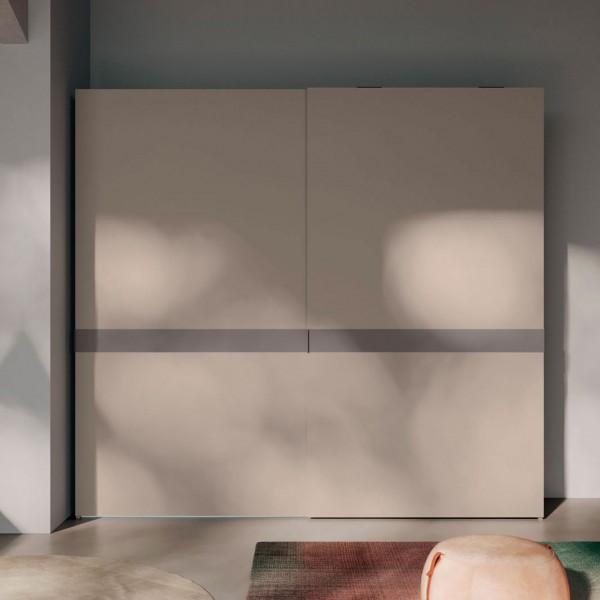 Модерен гардероб с плъзгащи врати, Eina