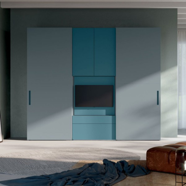 Модерен гардероб с TV модул, Visual