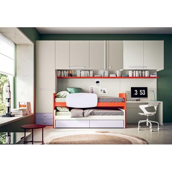 Модерни мебели за юношеска стая, START P21