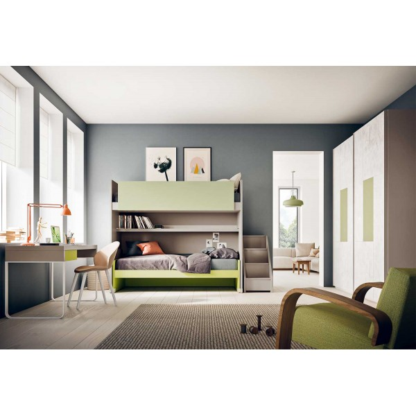 Обзавеждане за детска с двуетажно легло, START S28