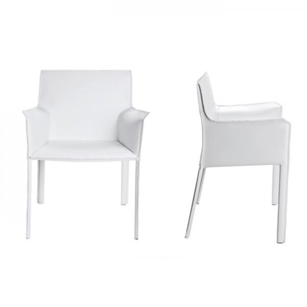 Модерен трапезен стол с подлакътник, Frida