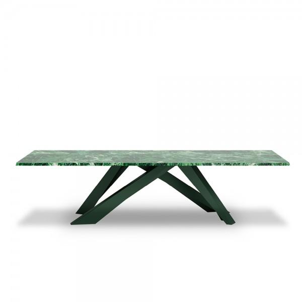 Италианска трапезна маса с мраморен плот, BIG TABLE Special Eddition