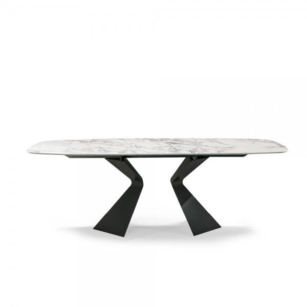 Трапезна маса с керамичен плот, PRORA