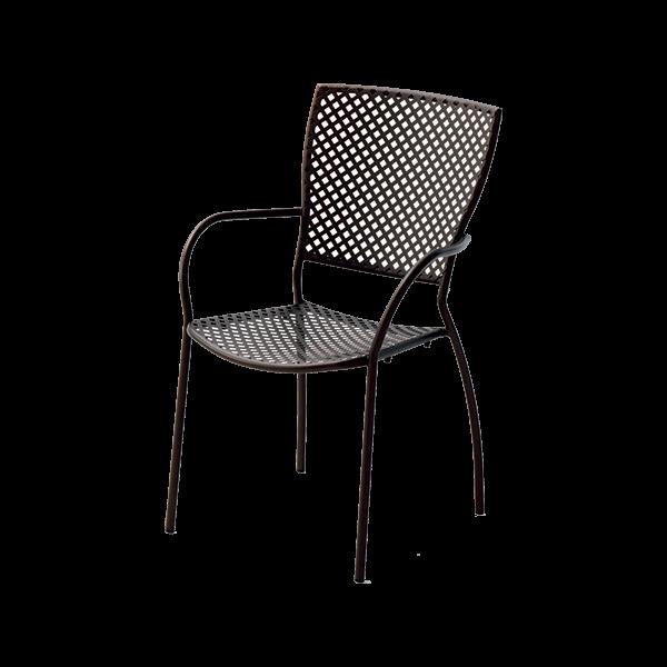 Метален градински стол, QUEEN