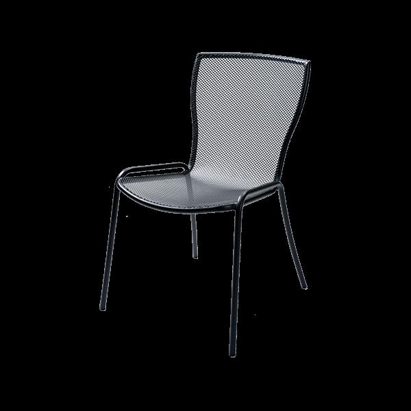 Метален градински стол, SYRENE 1