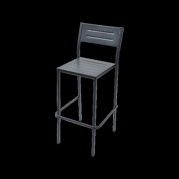 Италиански висок стол за градина, DORIO 75
