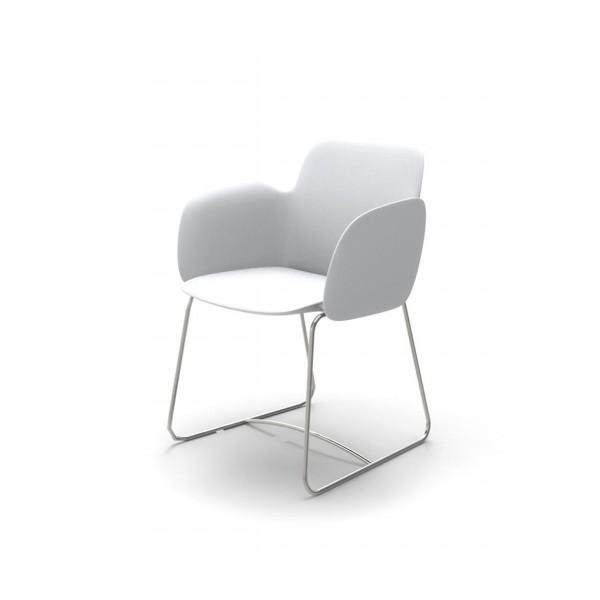 Модерен градински стол с подлакътник, PEZZETTINA