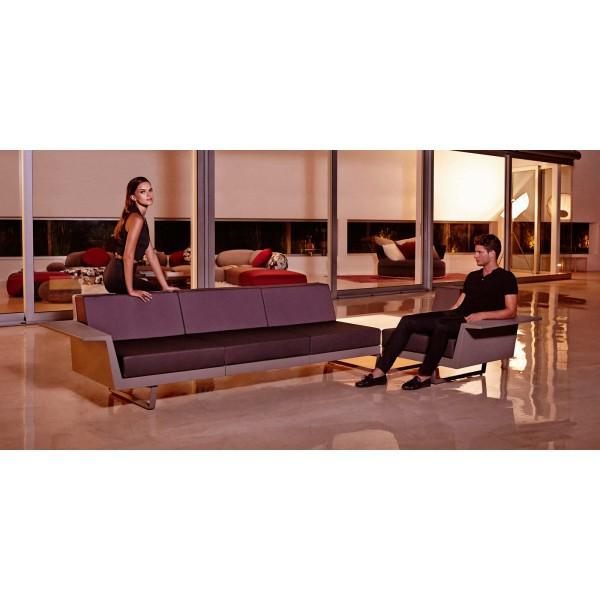 Модулен градински диван, DELTA