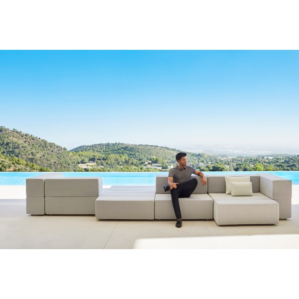 Модулен диван за градина, TABLET