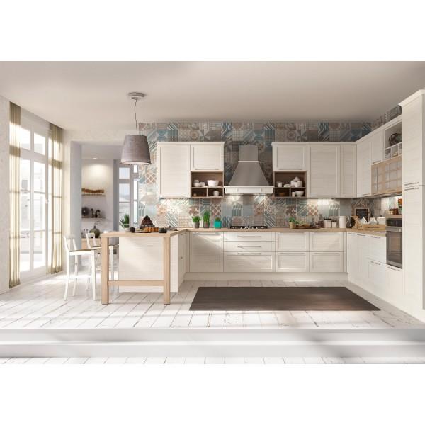 Кухня в стил Прованс, DOVER SLAT 04