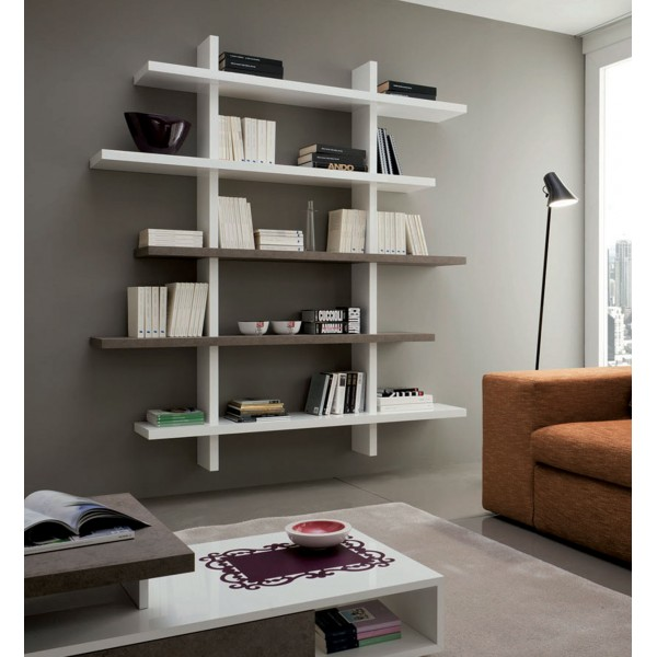 Модерна интериорна библиотека VITTORIA 458