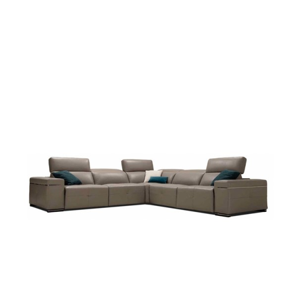 Модерен ъглов диван - Реклайнер, ANTONY от Alpa Salotti