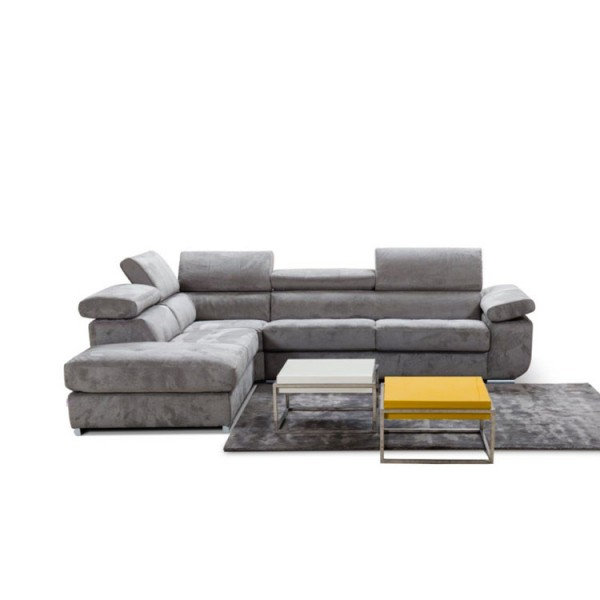 Модерен ъглов диван с тапицерия от текстил, GARDENIA от Alpa Salotti