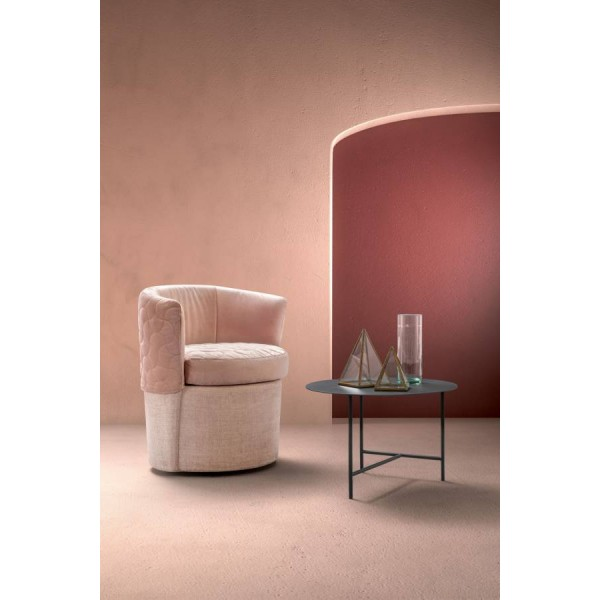 Модерно текстилно кресло, PEGGY