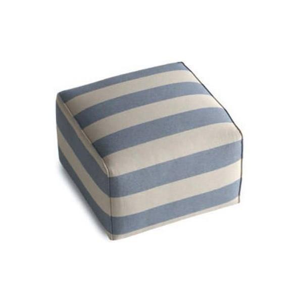 POUF - Табуретка с тапицерия от луксозен италиански текстил с квадратна форма от Felis