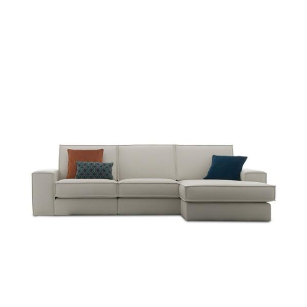 HOGAN - Италиански ъглов диван с елегантна линия от Felis