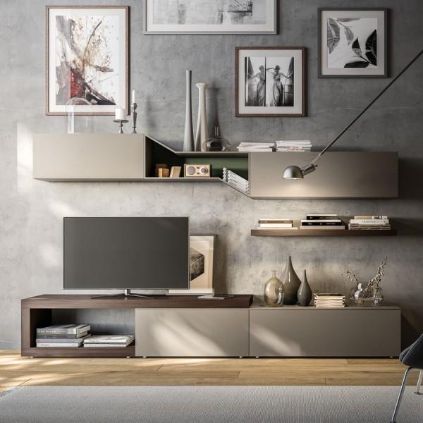 Дизайнерска TV Секция, LIGHT Comp. 14