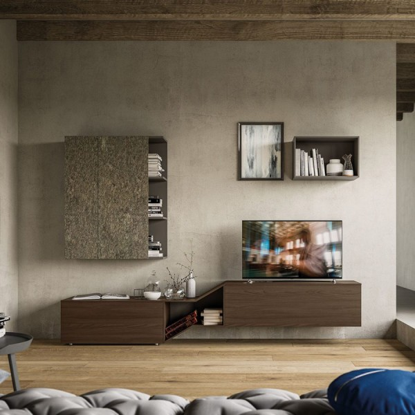 TV Секция с модерен дизайн, LIGHT Comp. 06